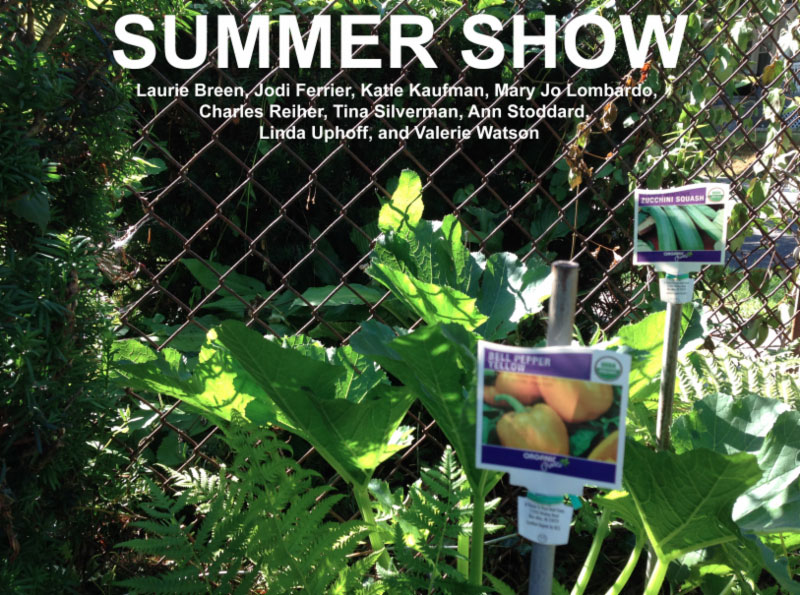 'Summer Show' - Laurie Breen, Jodi Ferrier, Katie Kaufman, Mary Jo Lombardo, Charles Reiher, Tina Silverman, Ann Stoddard, Linda Uphoff, and Valerie Watson